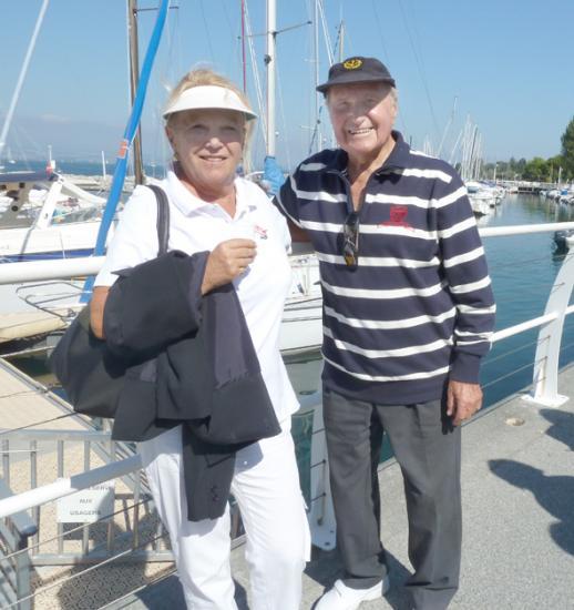 Ariane et Pierrot deux marins de sortie lors du Jeûne Fédéral