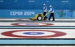 Iceman curling