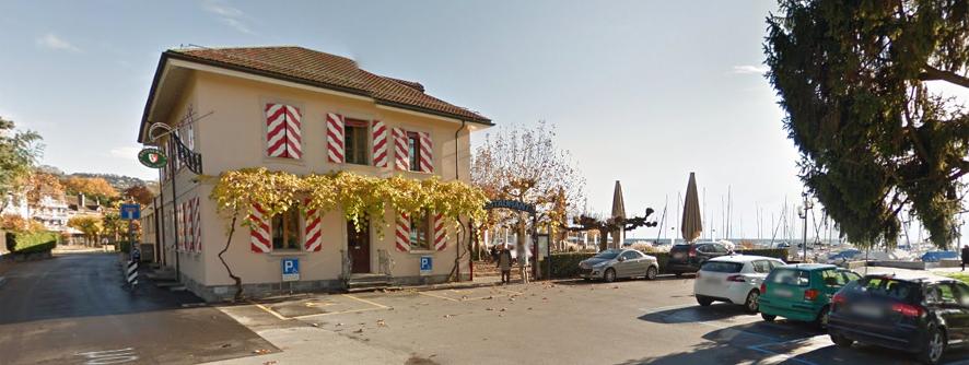 Port de pully restaurant