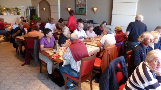 Repas à L'Hostellerie du Lac de Neuvecelle