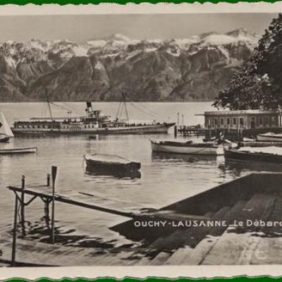 Cartes postales anciennes d'Ouchy