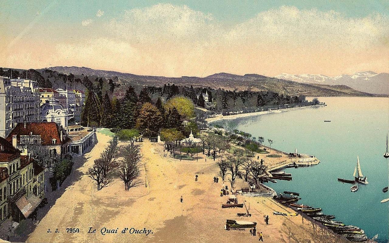 Lausanne Ouchy avant 1896